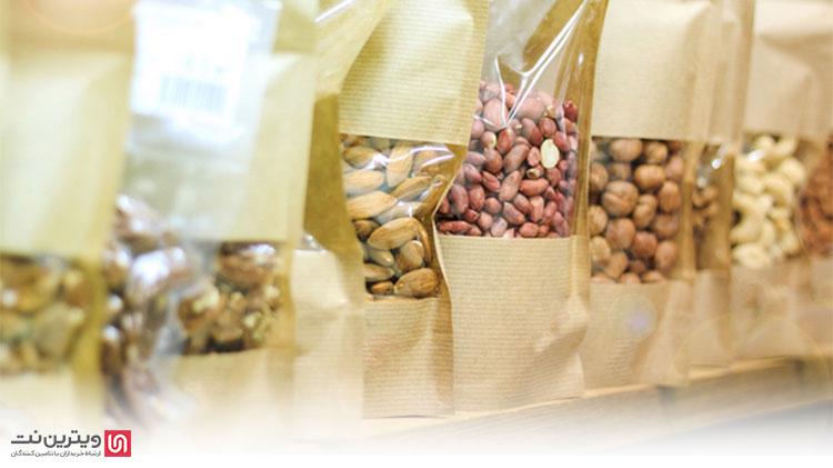 سود بسته بندی حبوبات و خشکبار